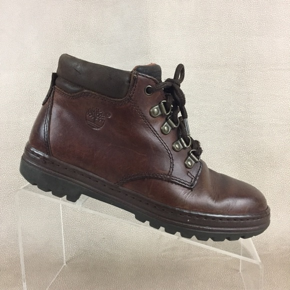 Timberland Boots Women 6.5 Brown Leather Hiking. M 5aa0b1bc2ae12fde52ca1de4 0592e3c5a
